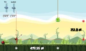Gerak Parabola Angry Birds